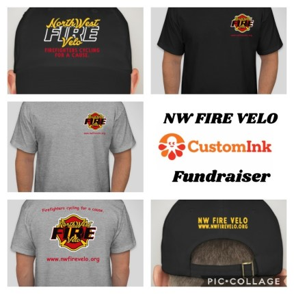 PURCHASE A NW FIRE VELO TEE SHIRT & HAT
